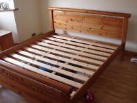 PINE SUPERKING BED