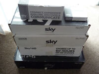 Sky boxes, various