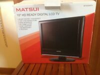 "15"" hd ready digital lcd tv MATSUI"
