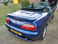 MGf MG f 1998/R Tahiti blue