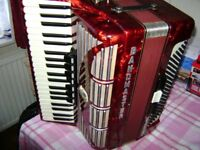 bandmaster 120 bass accordion