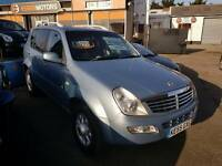 ssangyong Rexton 2.7 diesel auto 4x4 **59.000*p* miles £3995 part exchange welcome