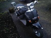 2001 Aprilia habana custom 125