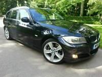 2010 BMW 325D SE TOURING*10'REG*RARE TAN LEATHERS*H/SEATS*FSH*MINT CONDN*#M SPORT#330D#320D#530D