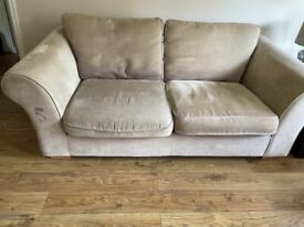 FREE- Three seater Next Sofa and matching chair