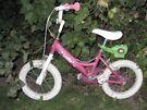"Dawes Lottie girls bike 14"""