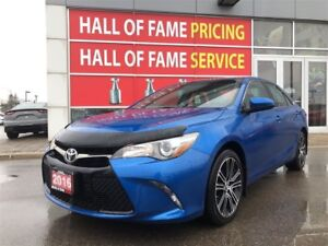 2016 Toyota Camry SE-ALLOY, BACKUP CAM, PUSH BUTTON, HEATED SEAT