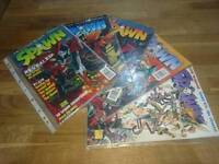 Spawn issues 1-5