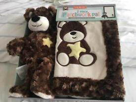 Little Miracles 2 Piece Patchwork PAL New