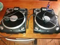 Pair of Numark cdx rare decks