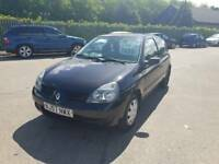 2008 57 renault clio campus lobg mot drives well