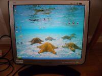 """Philips 190C Monitor 19"""" screen"""