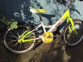 Girls bike - really cute, excellent working order, age 7 approx