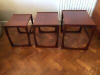 Retro Teak G Plan Quadrille Nest of Tables
