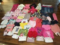 Girls clothes bundle aged 3-4 years (68+ items)