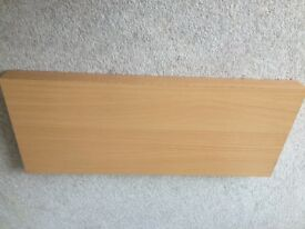Floating shelf 60cm beech effect