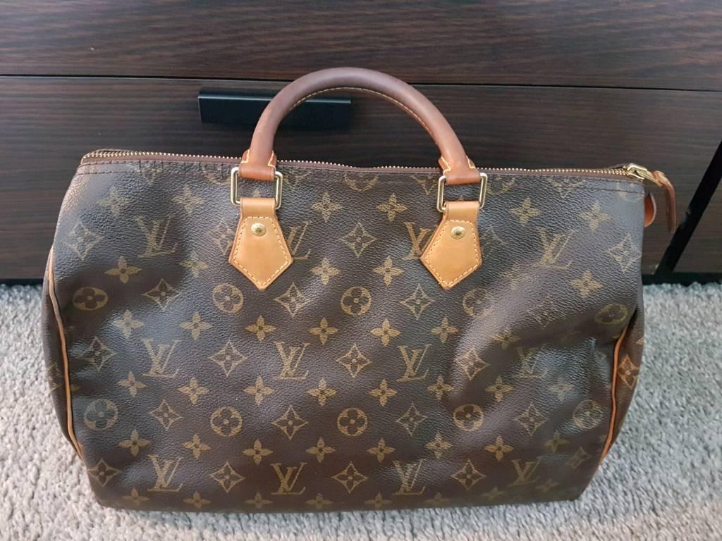 Louis vuitton bag speedy 35 authentic  c509b6e49a0ed