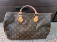 Louis vuitton bag speedy 35 authentic