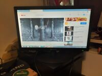 """22""""led monitor"""