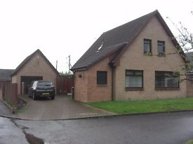 For sale 4 Bed detached villa with detached garage. No chain. Offers over £230,000. Early entry.