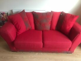 Red sofa bed for sale