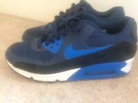 Blue Nike AIrMax