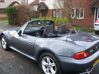 Beautiful 2000 1.9 bmw z3 with full service history