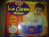 Ice-cream maker.