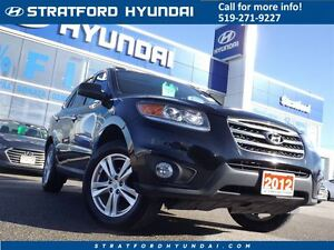 2012 Hyundai Santa Fe Limited 3.5 | LEATHER | SUNROOF | ALL WHEE