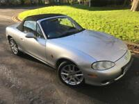 2003 Mazda mx5 1.6 - 65k Miles - 110 BHP - 1 Months Warranty - New Mot available - Oil Service