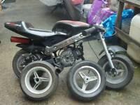 Pocket bike 50cc spare or repare