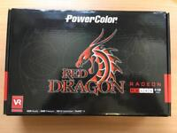 AMD PowerColor Red Dragon RX480 8GB Graphics Card