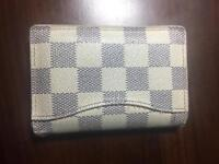 (STEAL PRICE) Louis Vuitton Damier Azure Pocket Organizer for Cards