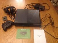 Xbox ONE + accessories FOR CHARITY