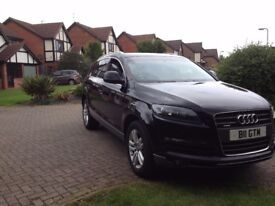 Audi Q7 2008 - Lots of Extra's including TV - 2 Owners - Long MOT.