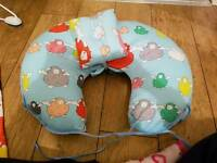 Breastfeeding and Baby Support Cushion
