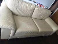 Leather Sofa - Excellent Condition - Collection Only