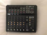 Alto ZEPHYR ZMX122 FX 8-Channel Effects Mixer Mixing Desk