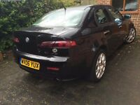 Alfa Romeo 159 2.4 JTDM Lusso, Gd condtn, long MOT, new tyres, battery, Air con, Leather , Alloys