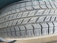 Mk1 CRV Alloys and good tyres.
