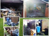 Garden, garage, shed clearance, skip, waste removal, tip run, van, gardener, strimming, hedges.
