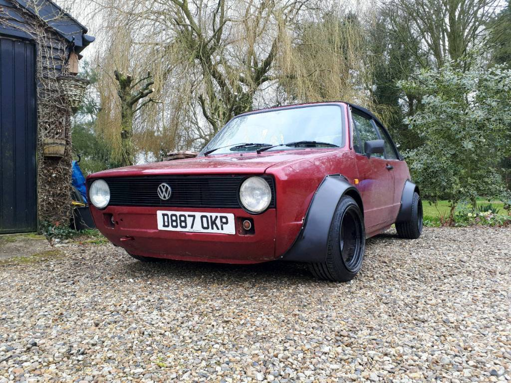 Volkswagen MK1 Golf Cabriolet 1.8 Carbed Clipper Modified