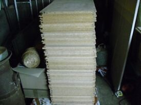 49 tongue and groove loft/attic boards. Brand new. Excellent condition.