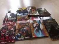 16 miscellaneous graphic novels