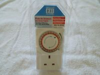 A Genuine CED Security Timer Plug In Segments(15min) 24 Hour Timer