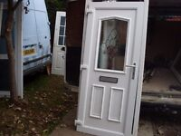 upvc door nearly brand new
