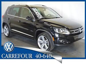 2015 Volkswagen Tiguan 2.0T 4Motion Highline R-Line Automatique