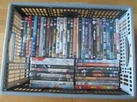 Large Box of 50 DVDs mixed titles, Carboot or Resale