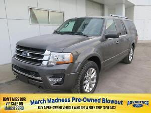 2016 Ford Expedition Max Limited Nav. Moonroof. Trailer Tow.