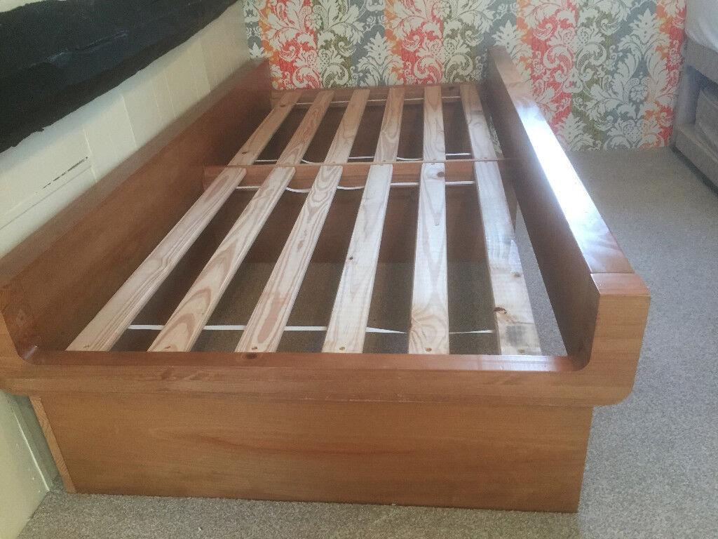 Single Bed (Big Brother) Solid Wood Frame Superb Quality £60 ...